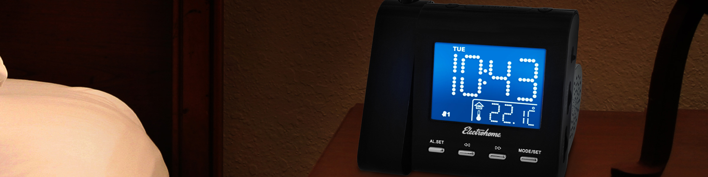 Digital Alarm Clock Radios