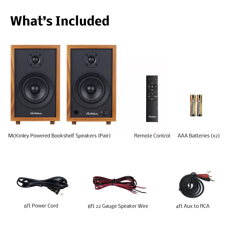McKinley 2.0 Stereo Powered Bookshelf Speakers