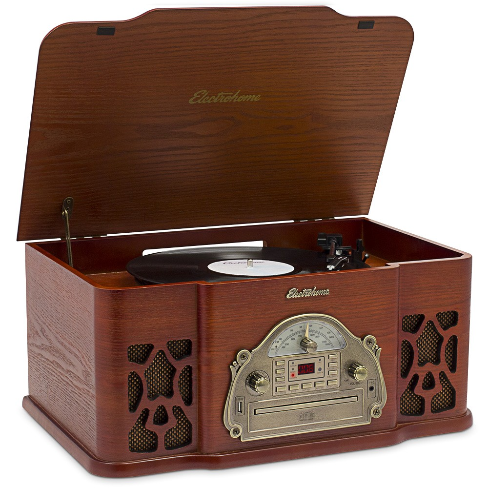 Vintage Design Record Player