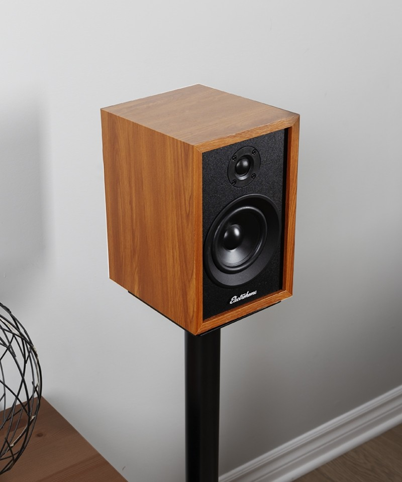 McKinley 2.0 Stereo Powered Bookshelf Speakers - Mobile Lifestyle