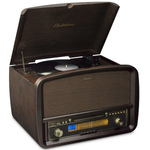 Signature™ Vinyl Record Player Classic Turntable Stereo System