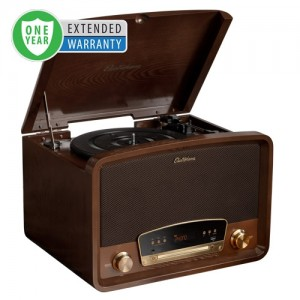 1 Year Extended Warranty for Kingston 7-in-1 Vinyl Record Player - Main Walnut - 1