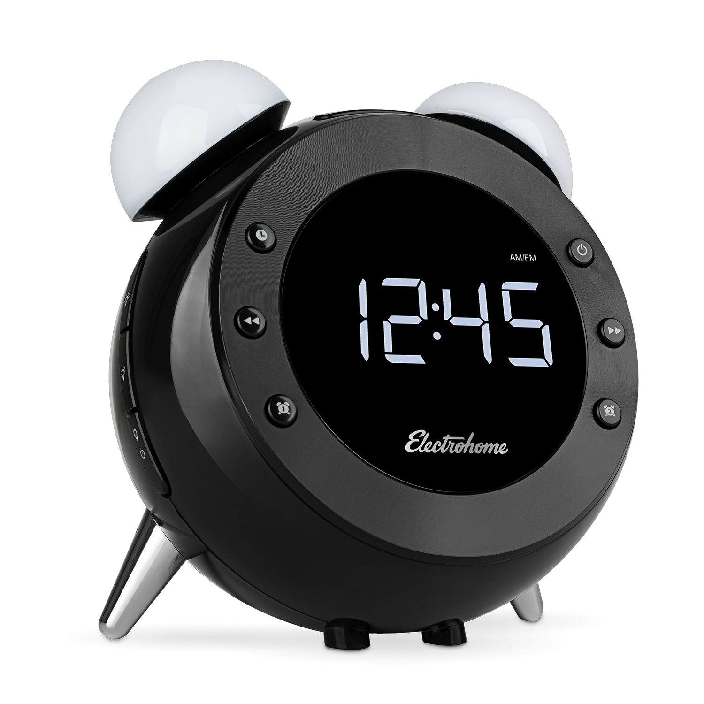 Main Electrohome Retro Alarm Clock Radio CR35
