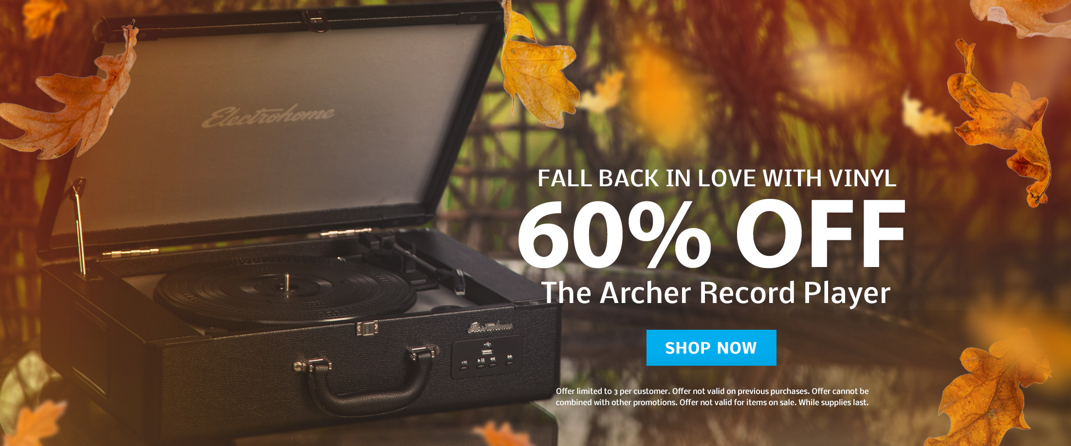 FALL BACK IN LOVE WITH VINYL