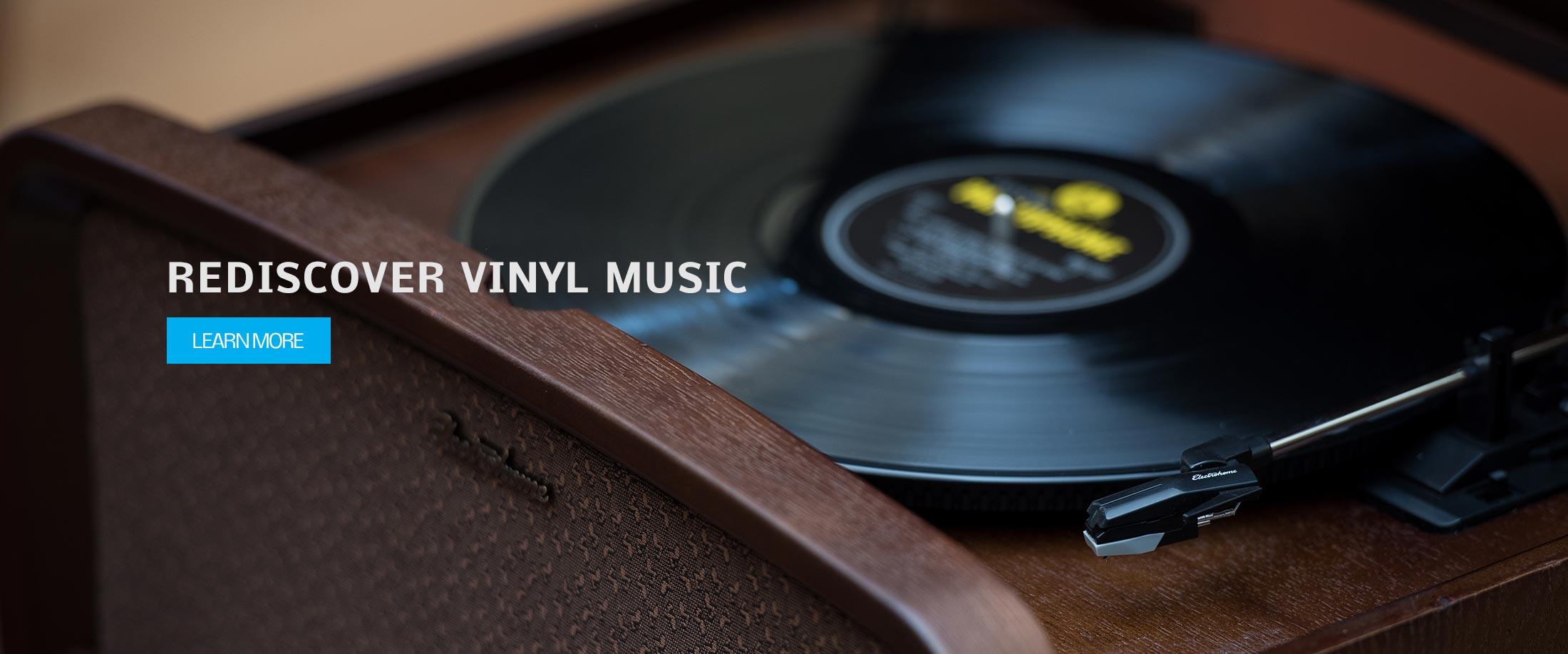 REDISCOVER VINYL MUSIC