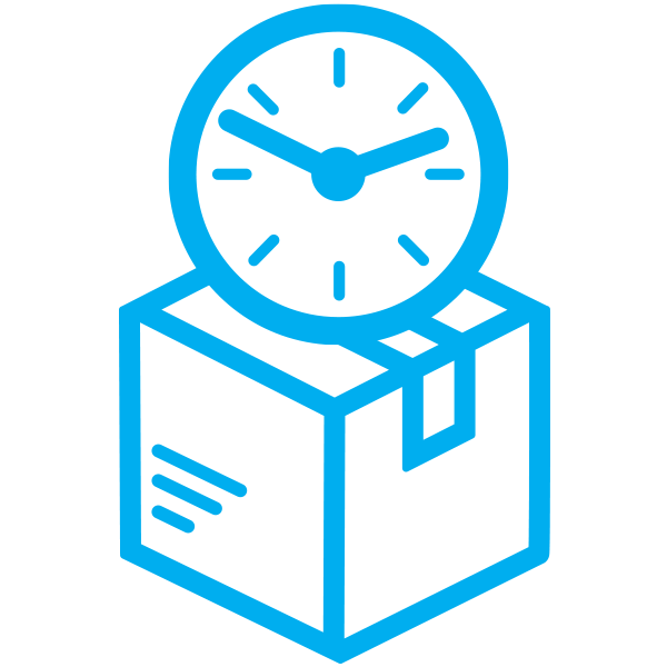 package delivery time icon