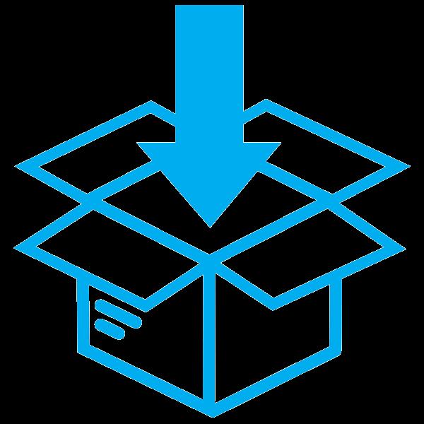 repackaging icon